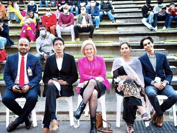 indian youth fair in brisbane concludes with pomp