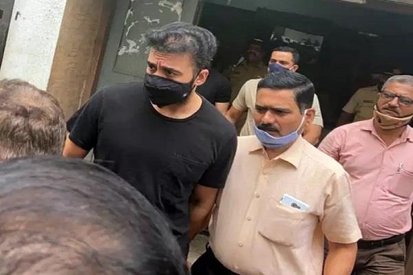 raj kundra has not been granted bail and will remain in jail till august 10