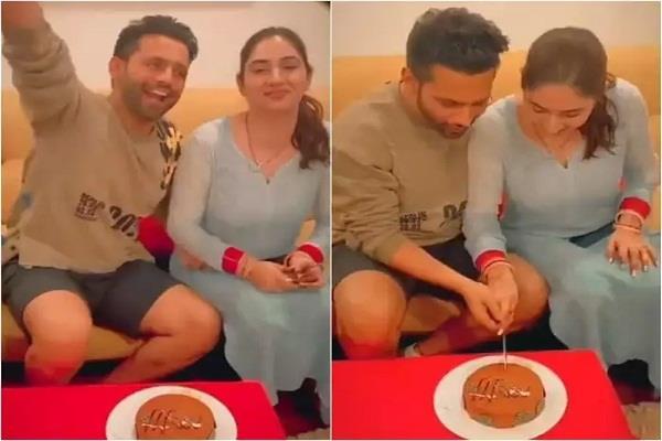 rahul vaidya and disha parmar wedding took place a week ago