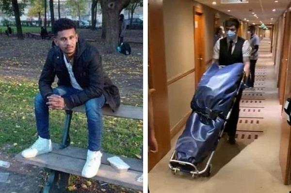 uk a refugee dies in a hotel provided by home office