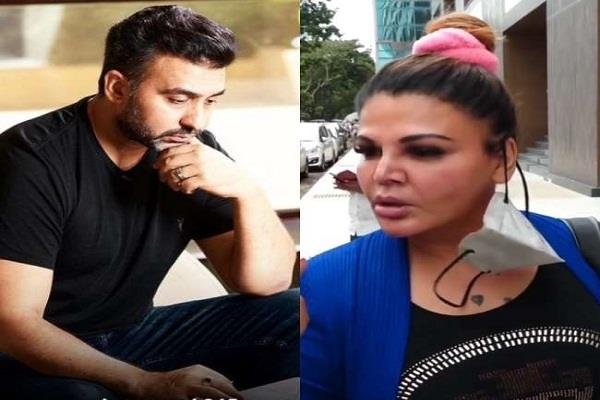 rakhi lashed out at the actors who questioned raj kundra