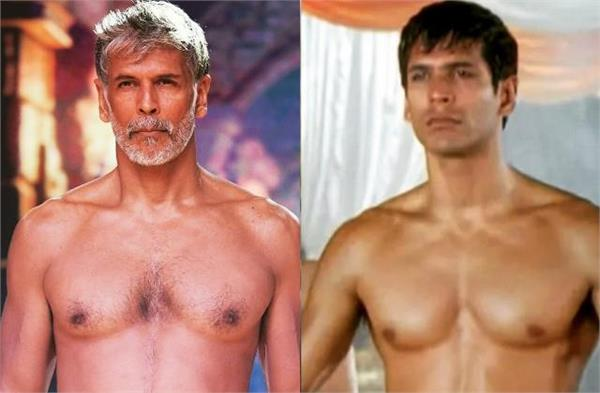 milind soman hasn  t changed at all in 26 years