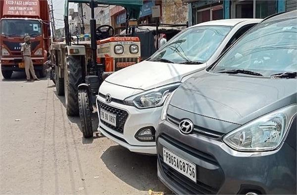 road accident jalandhar lamba pind chowk