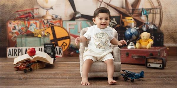 b praak son adabb bachan first birthday