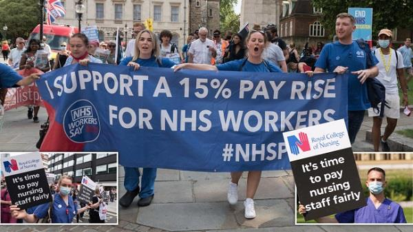salary of nhs staff in england will increase by 3