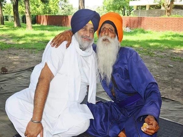sukhbir meets baba labh singh