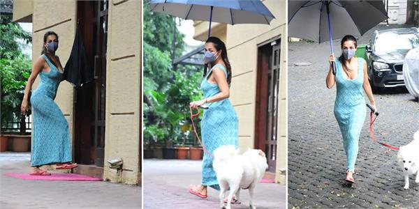 malaika arora morning walk viral pictures