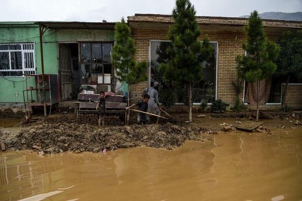 floods wreak havoc in afghanistan  killing 150