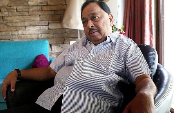 union minister narayan rane arrested for   slapping uddhav thackeray
