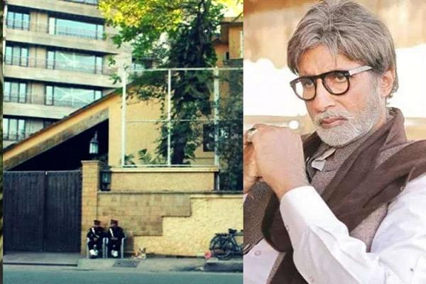 amitabh bachchan  s bungalow threatened with bomb