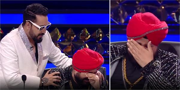daler mehndi emotional and cry on tv show