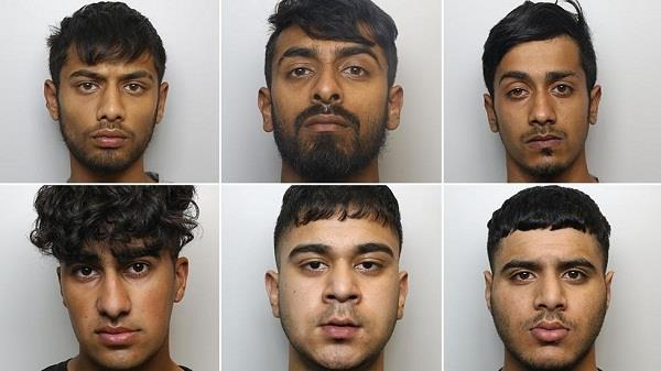 6 pakistani men jailed for life for murdering 20 year old in uk
