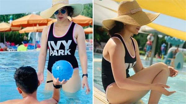 kangana ranaut bikini pictures viral on social media
