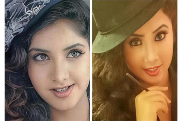 divya bharti counterpart is this girl look at the pictures