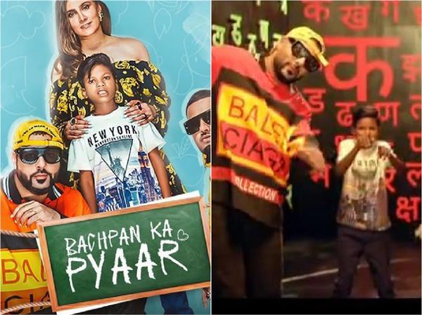 badshah shared teaser new song   bachpan ka pyar   on instagram