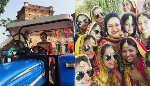 satwinder bitti celebrated teej with girls shared pictures