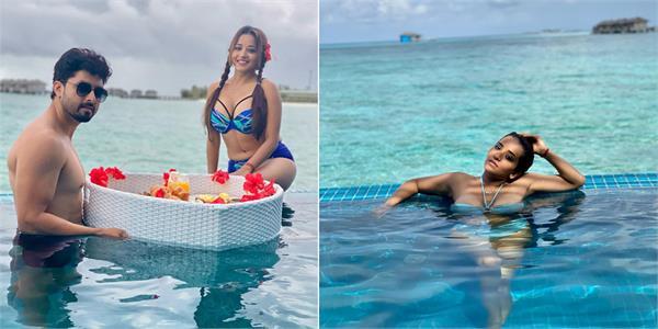 monalisa maldives vacation posts
