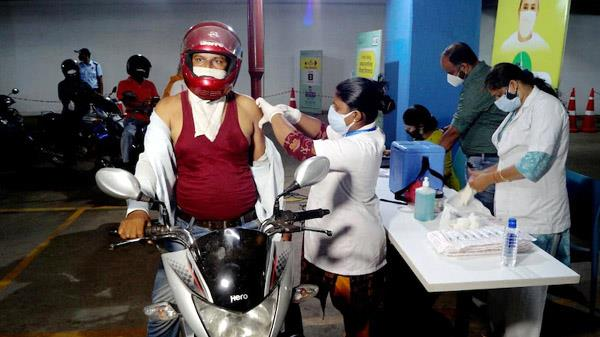 100 percent vaccination  this city with temples became number one in the country
