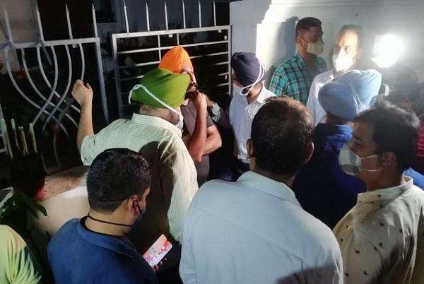 vigilance team arrest former dgp sumedh saini