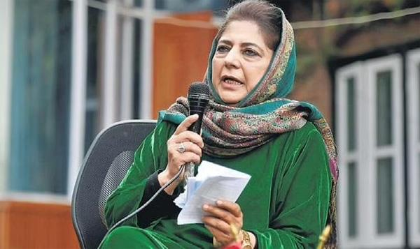 mehbooba  s advice to center  taliban not in india  should focus on farmers