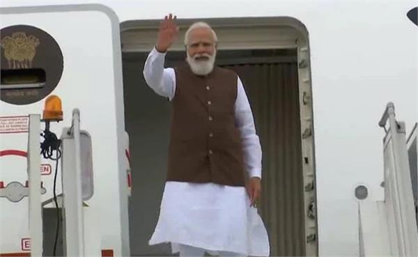 pm modi leaves for india after historic visit to america