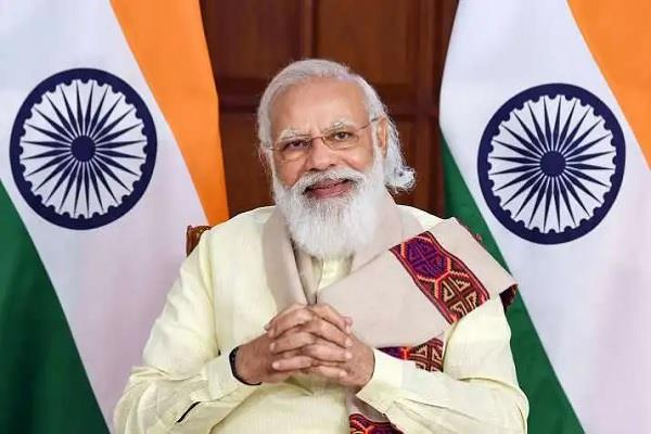 leaders including president vice president congratulated modi on his birthday