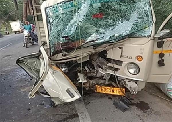 abohar road accident car death