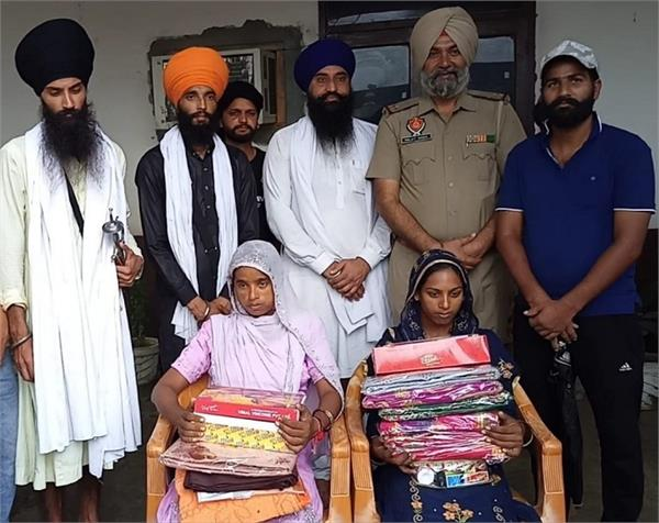 amritsar police  asi  help  poor family