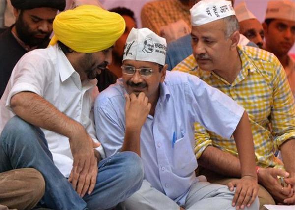 elections  aam aadmi party  bhagwant mann