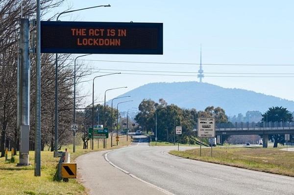 australia  s capital extends lockdown until october 15
