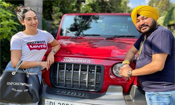 daler mehndi gives new thar to his daughter in law jessica mehndi