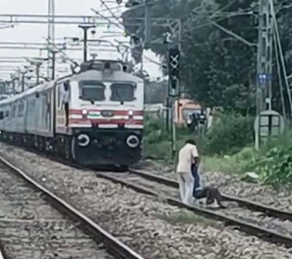 handicaped man suicide jalandhar train
