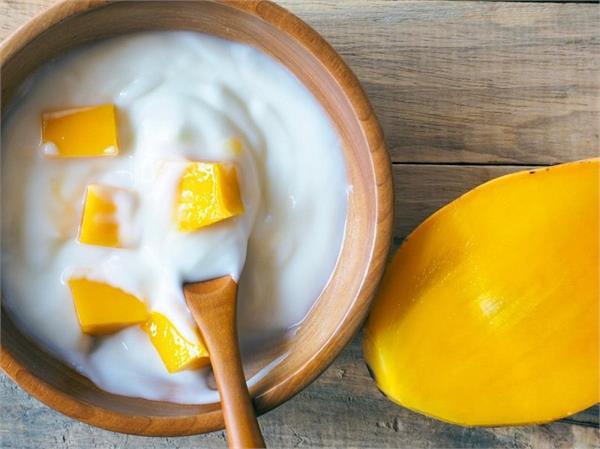 health tips weight gain yogurt mango mix eat benefit