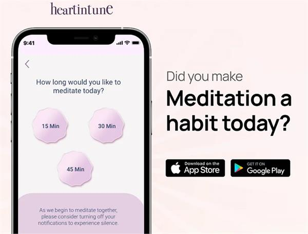 this app will help in doing meditation sitting at home