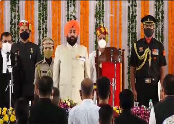 lieutenant general gurmeet singh sworn new governor of uttarakhand