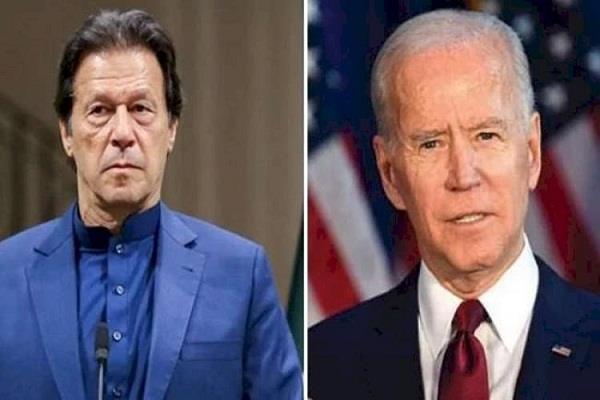 can t say when president biden talk to pak pm imran khan