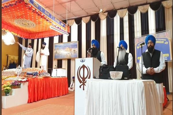 italy  great gurmat samagam held at gurdwara sahib shaheed baba deep singh