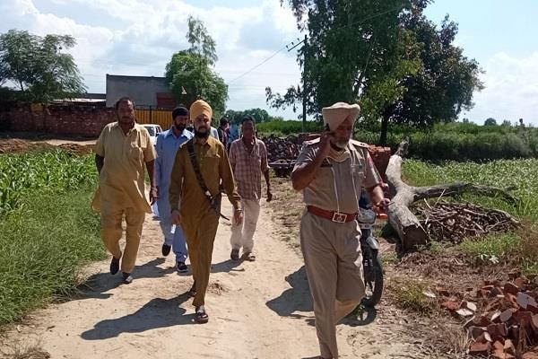 jalandhar  body of murdered youth of chittani village