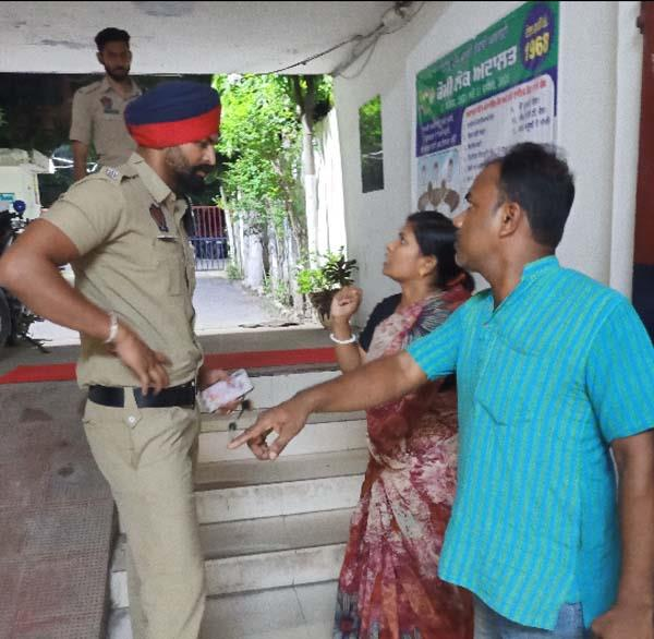 commissionerate of police  jalandhar  robbery