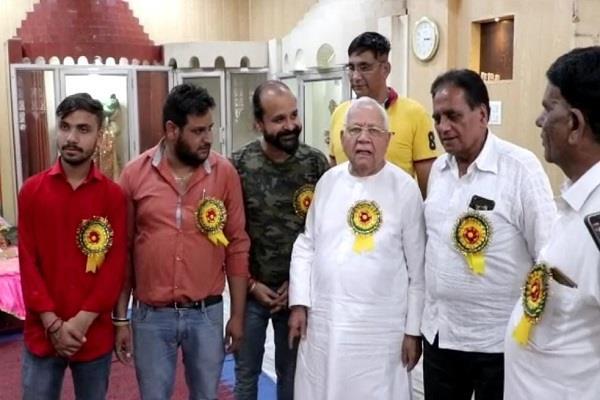 ganesh utsav celebrated with great fanfare in krishna nagar  jalandhar