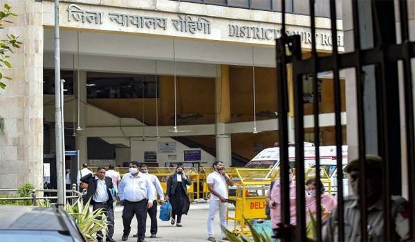 rohini court shooting case  lawyers demand probe  boycott work