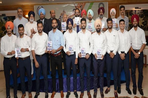 navdeep gill  pargat singh  indian hockey team