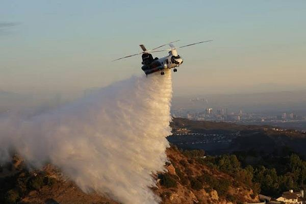 the plan is to use chinook helicopters to fight wildfires