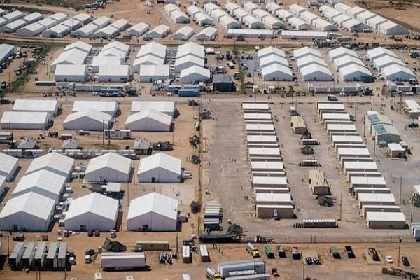 afghan refugee beaten by afghan refugees at fort bliss base in us