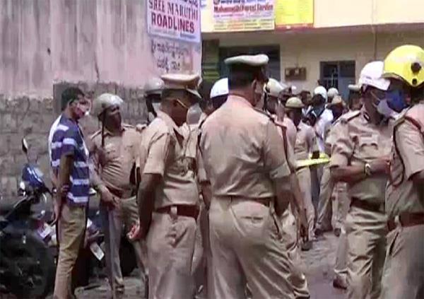 bengaluru  two killed  five injured in warehouse blast