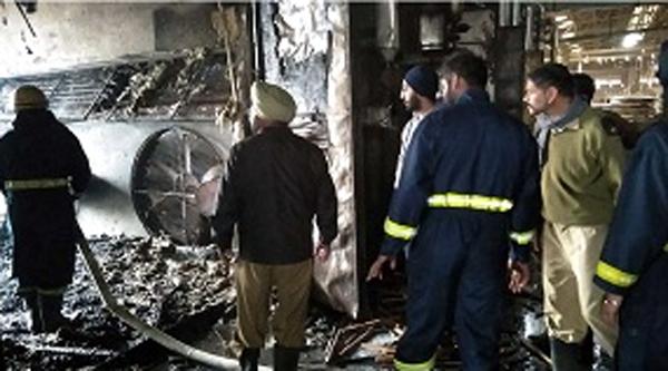 khurana plywood factory fire